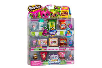 Shopkins Season 11 Family Mart Shoppers Pack