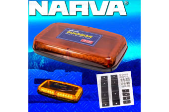 NARVA GUARDIAN MINI LED LIGHT BAR BOX EMERGENCY FLASHING ROTATING STROBE 85164A