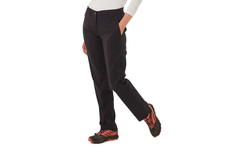 Craghoppers Womens/Ladies Kiwi Pro Trousers (Dark Navy) (16L UK)
