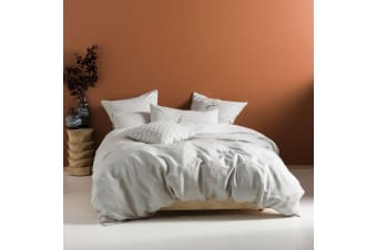 Linen House Nimes Duvet Cover Set (Grey)