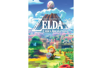 The Legend of Zelda Links Awakening 123 Poster (Multicoloured) (One Size)