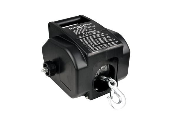 Detachable Portable Electric Winch 12V 2000LBS
