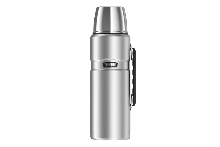Thermos 2 Litre Drink Bottle - Silver