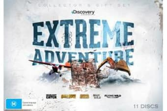 Extreme Adventure (Deadliest Catch / Gold Rush Alaska / Bering Sea Gold / Man vs Wild / Flying Wild Alaska) (Collector's Gift Set) (Discovery Channel)