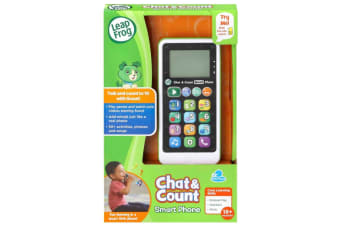 LeapFrog Chat and Count Phone Scout - Green