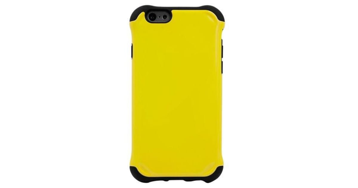 quality design 74cf3 f3b4c For iPhone 6S PLUS 6 PLUS Case Armour Durable Shielding Cover Yellow    Phone Cases