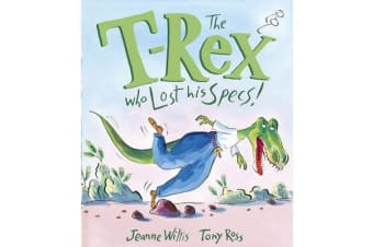 The T-Rex Who Lost His Specs!