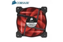 Corsair Air Flow 120mm Fan Quiet Edition Red  LED 3 PIN - Superior cooling performance and LED illumination
