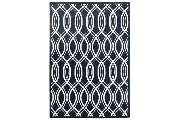 Indoor Outdoor Lucid Rug Navy 230x160cm