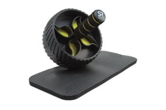 Sports Research Performance Ab Wheel Home Gym Exercise Equipment + Knee Pad Included