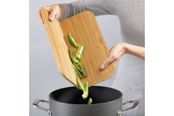 Joseph Joseph Chop2Pot Bamboo Folding Chopping Board