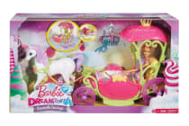 Barbie Dreamtopia Sweetville Carriage with Doll