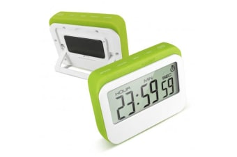 Digital Lcd Magnetic Clock Count Down Timer 60Min Alarm Kitchen Sport - Green