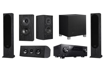 Pioneer 5.1 Home Theatre System with 130W 5.1 Channel Receiver - Designed by Andrew Jones