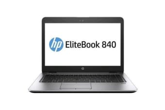 "HP EliteBook 840 G3 Business Notebook, 14"" 1080p Intel i5-6300U 8GB DDR4 RAM 256GB SSD"