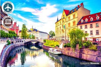 EASTERN EUROPE: 12 Day Highlights of Eastern Europe Tour Including Flights for Two