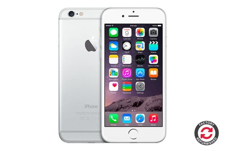 Apple iPhone 6 Refurbished (64GB, Silver) - A Grade