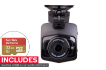 Laser Navig8r Full HD in Car Digital Video Recorder with GPS + SanDisk 32GB Extreme microSDHC Card