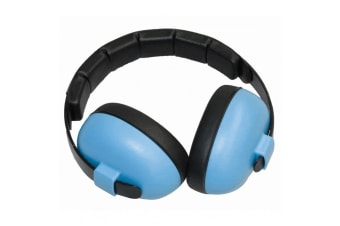 Banz Hear No Blare Baby Noise Control/Ear Hearing Protection Earmuffs 3m+ Blue