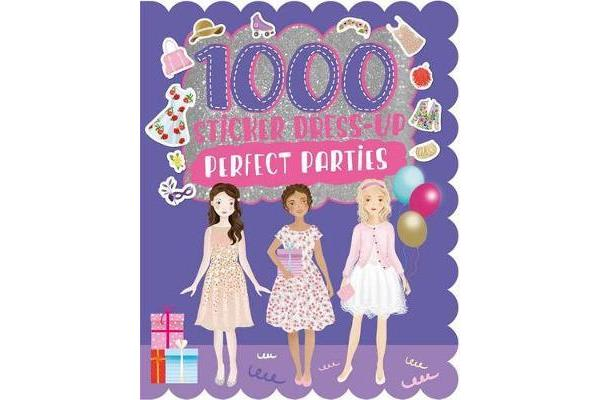 Image of 1000 Sticker Dress-Up Perfect Parties