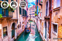 EUROPE: 16 Day Italy Tour & Mediterranean Cruise Including Flights for Two