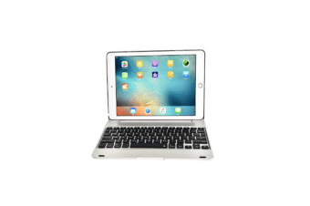 Removable Wireless Bluetooth Keyboard For Ipad Air1/Air 2 9.7 Inch Silver