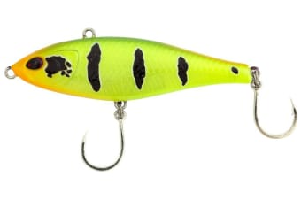 Bone Dash 60S Sinking Pencil Bait Fishing Lure - 60mm Vibe Lure-33gm Search Bait [Colour: Crazy Temme]