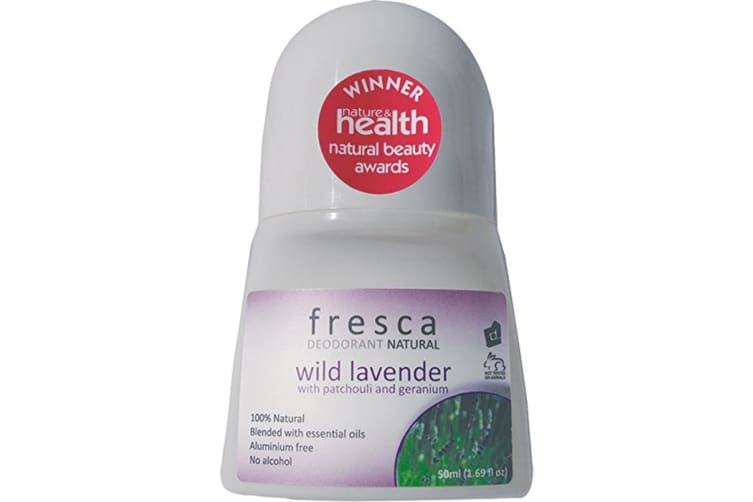 Fresca Natural Deodorant Wild Lavender with Patchouli & Geranium 50ml