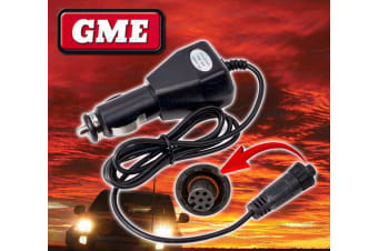 GME 12V CIGARETTE CAR CHARGER LEAD SUIT GX850 HANDHELD VHF RADIO BCV008