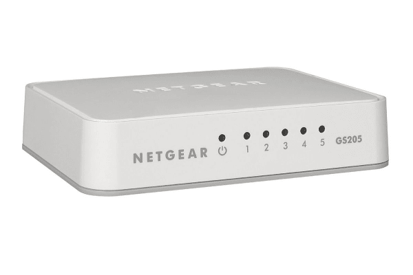 Netgear 5-Port Gigabit Switch (GS205)