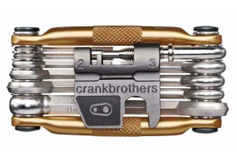 Crank Brothers M17 Bike Bicycle 17-Function Multi-Tool Set Gold