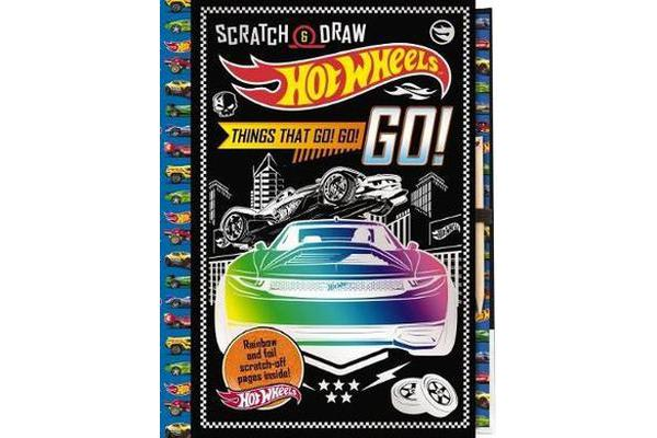 Image of Hot Wheels - Scratch & Draw Things That Go! Go! Go!
