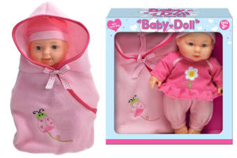 Baby Doll With Carry Bag