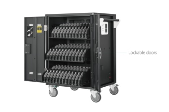 AVerMedia 25Kg+ Freight Rate-36 bays, tablets, laptops & Chromebooks Charge Cart