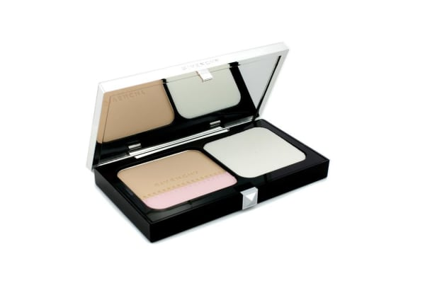 Givenchy Teint Couture Long Wear Compact Foundation & Highlighter SPF10 - # 3 Elegant Sand (10g/0.35oz)