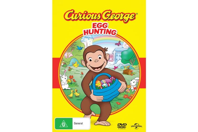 Curious George Egg Hunting DVD Region 4