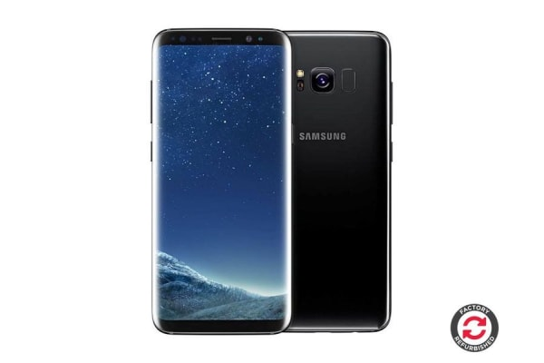 Refurbished Samsung Galaxy S8+ (64GB, Midnight Black)