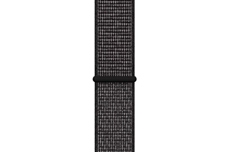 Apple Watch Nike+ Series 4 Refurbished (Space Gray, 44mm, Black Nike Sport Loop, GPS Only) - A Grade