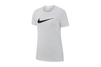 Nike Dri-FIT Women's Crew T-Shirt (White)