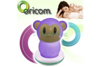 ORICOM LED BABY NIGHT LIGHT LAMP NITE LITE ROOM NEW VISUAL MONKEY RECHARGABLE 10