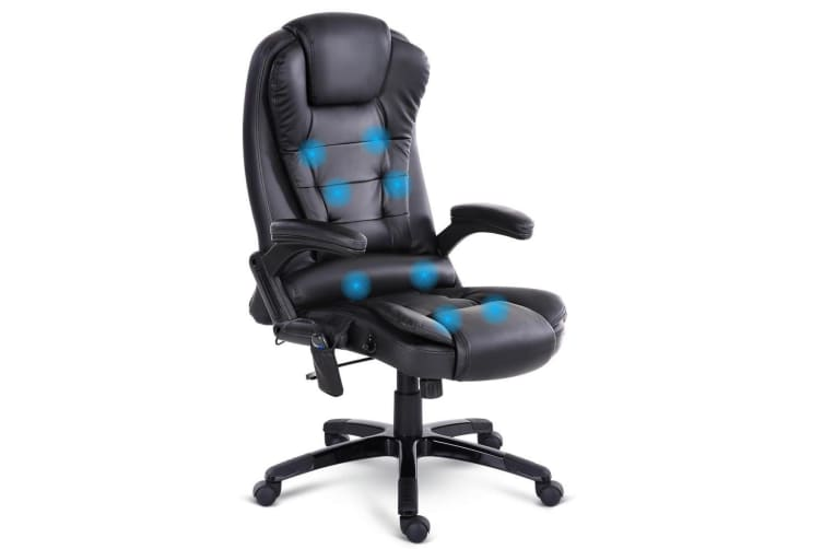 Artiss Massage Office Chair 8 Point Heated Chairs Computer