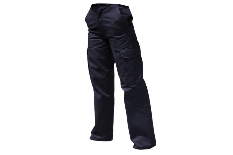 Warrior Womens/Ladies Cargo Workwear Trousers (Harbour Navy) (26/L)