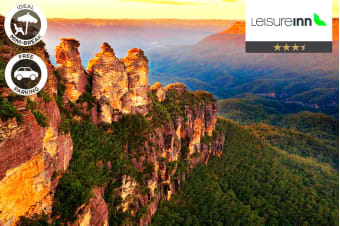 BLUE MOUNTAINS: 2 or 3 Nights Stay at Leisure Inn Spires for Two