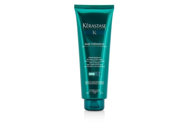 Kerastase Resistance Bain Therapiste Balm-In -Shampoo Fiber Quality Renewal Care (For Very Damaged, Over-Porcessed Hair) (450ml/15oz)