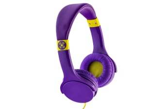 Moki Lil' Kids Safe Over Ear Headphones - Purple (ACCHPLILPU)