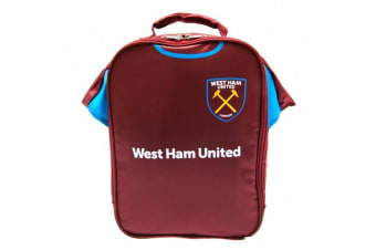 West Ham FC Official Insulated Football Kit Lunch Bag (Claret)