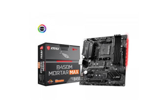 MSI B450M MORTAR MAX mATX Motherboard For AMD Ryzen 2nd/3rd Gen