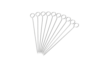 Westmark Stainless Steel Swiss Roll Needles 10pc Meat Roll Roulade BBQ Tools