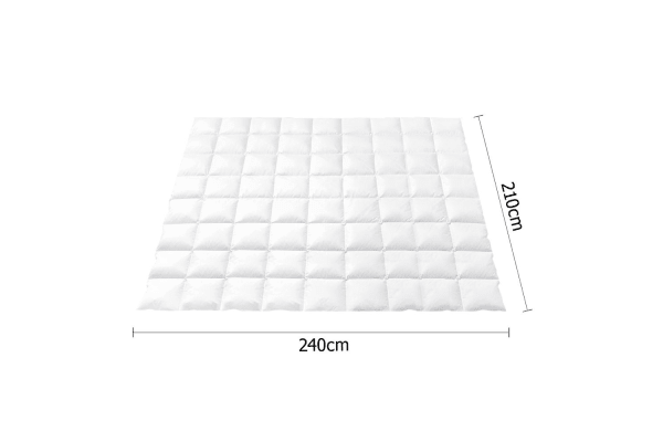 Duck Feather Down Quilt (King)
