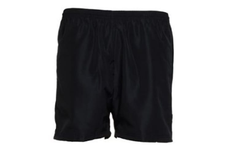 Gamegear® Mens Cooltex® Training Short / Mens Sportswear (Black) (XS)